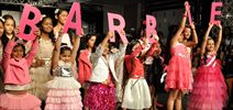 Kids Walk The Ramp For Hamleys Show