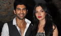 Sara Loren And Taaha Shah At Barkhaa Movie Wrap-up Bash