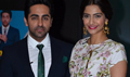 Ayushmann And Sonam At Bewakoofiyaan Promotion