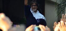 Amitabh Bachchan Snapped As He Meets His Well-Wishers