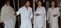 Celebs At Juhi Chawlas Brother Bobby Chawla's Prayer Meet