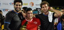 Aamir, Hrithik, Abhishek And Others At Charity Football Match By Ira Khan