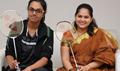 Announcement On Celebrity Badminton League Curtain Raiser