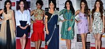 Konkana, Shriya, Deeksha And Others At LFW Announcement