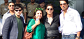 Shahrukh, Farah, Sonu & Vivan Arrive Back From HNY Promotions