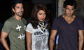 Priyanka, Farhan And Ranveer Snapped On The Sets Of Dil Dhadakne Do