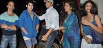 Akshay, Shilpa, Tiger, Twinkle And Aarav Snapped At PVR Juhu