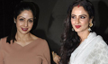 Rekha, Sridevi And Others Watch Khoobsurat