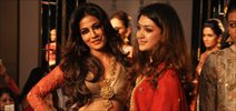 Chitrangda walks for Harshita at LFW 2014