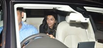 Deepika Padukone snapped at a recording studio