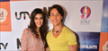 Launch of Donutpanti donut with the star cast of 'Heropanti'