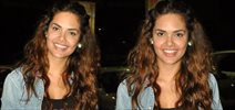 Esha Gupta Snapped During Kick Screening