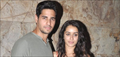 Sidharth & Shraddha Kapoor at 'Ek Villain' media preview