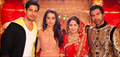 Ek Villain Cast Visit The Sets Of Kumkum Bhagya