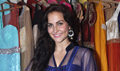 Elli Avram snapped at the Nazakat store