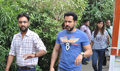 Emraan Hashmi snapped at Mehboob studio for Ungli promotions