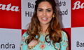 Esha Gupta Inaugurates Bata Showroom