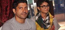 Farhan and Kiran Rao at Mumbai Film fest meet