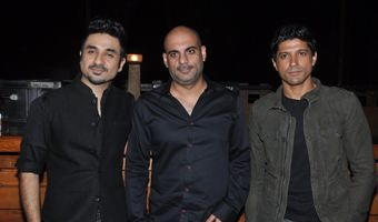 Farhan & Vir Das promote 'Shaadi Ke Side Effects'