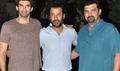 Fitoor Cast Aditya Roy & Abhishek Kapoor Snapped In Juhu