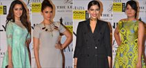 Sonam, Shraddha, Richa & Aditi Grace Grazia Young Fashion Awards