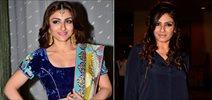 Soha Ali Khan & Raveena Tandon at Globoil India 2014