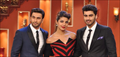 Promotion of 'Gunday' on Comedy Nights with Kapil