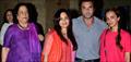 Sohail, Seema And Salma At HSKD Screening At Lightbox
