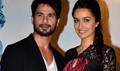 Shraddha Kapoor And Shahid Kapoor At The Launch Of Haider