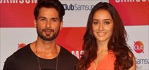 Shahid and Shraddha promotes Haider with Samsung