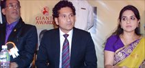 Helen and Sachin at Giant Awards at Trident