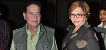 Helen And Salim Khan Snapped At Lightbox