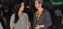 Hrithik And Katrina Snapped As They Return From Bang Bang Delhi Promotions
