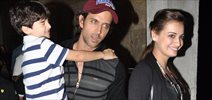 Hrithik Roshan And Dia Mirza Watch Planet Of The Apes