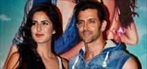 Hrithik and Katrina at Bang Bang song launch