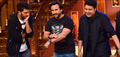 Humshakal star cast on the sets of Kapil