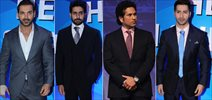 John, Sachin, Abhishek & Varun At ISL Launch