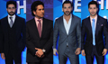John, Sachin, Abhishek & Varun At ISL Launch