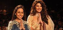 Jacqueline Walks For Anju Modi