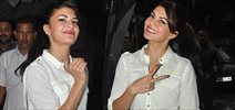 Jacqueline Fernandez Snapped At Mehboob Studio