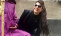 Jacqueline Fernandez Snapped On The Sets Of Kick In Poland