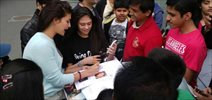 Jacqueline Meets Her Fans In Poland