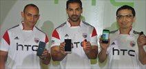 John Abraham Unveils New HTC Mobiles