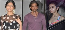 Hrithik, Sonam, Alia And Others Snapped At Karan's Party