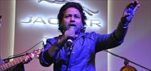 Kailash Kher Performs At Jaquar Alive Music Experience