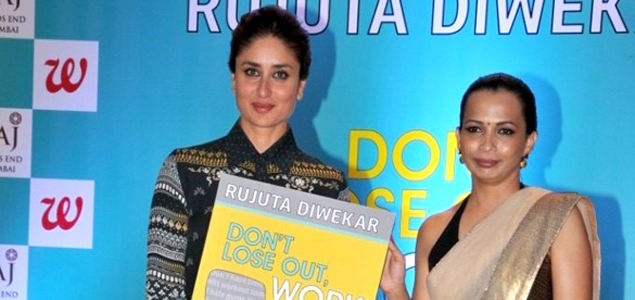 Kareena launches Rujuta Diwekar's book 'Don't Lose Out, Workout'