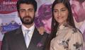 Sonam & Fawad Promote Khoobsurat At Reliance Trends