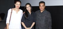 Kamal Haasan-Gouthami at Kochadaiiyaan Special Screening Photos