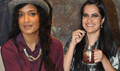 Sona Mohapatra And Sandhya Mridul At Levis Khadi Collection Launch
