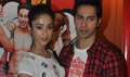 Illena And Varun At MTH Promotions